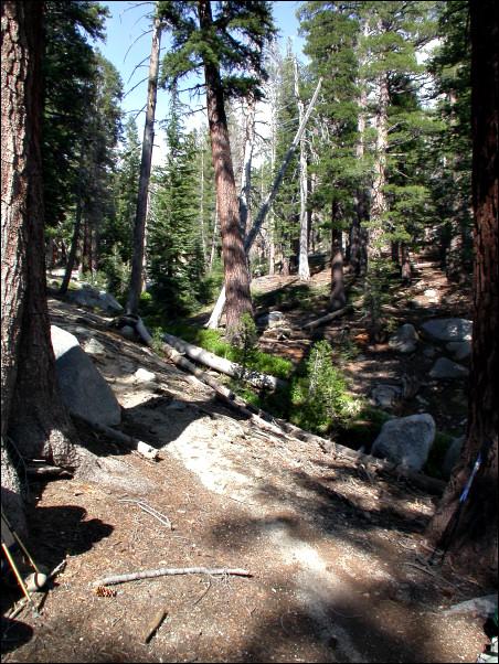 Break at our campsite - 16:17