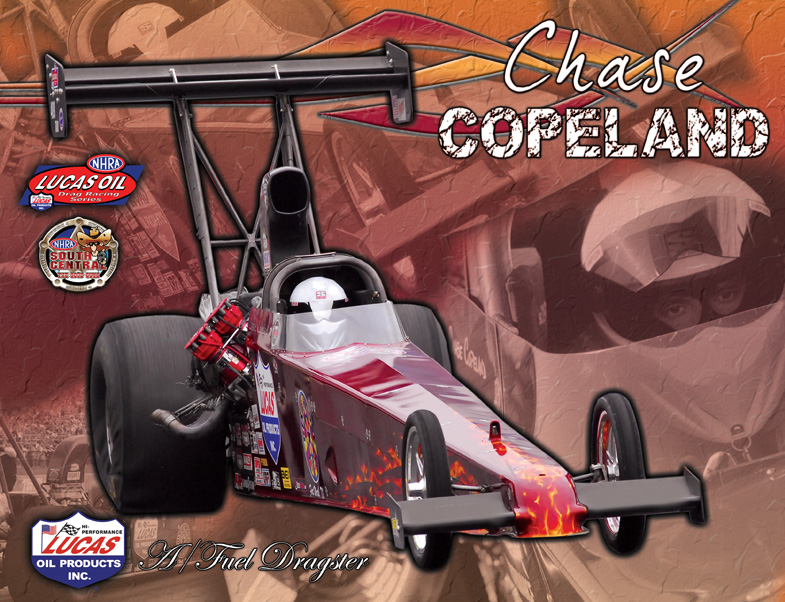 Chase Copeland A/Fuel Dragster 2011