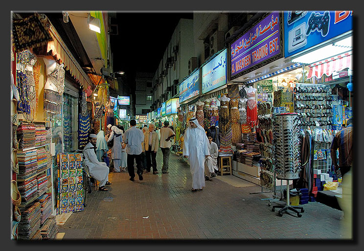 Shopping in Deira