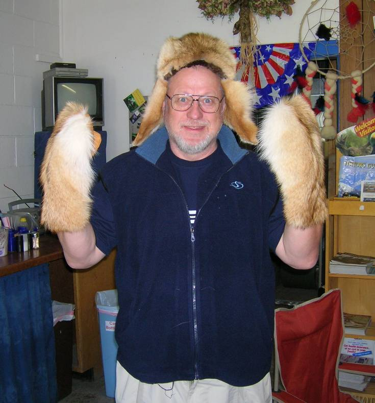 Yours Truly in Fur