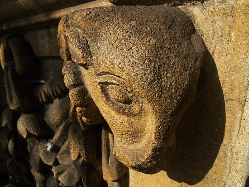 Ram on St Marys Church
