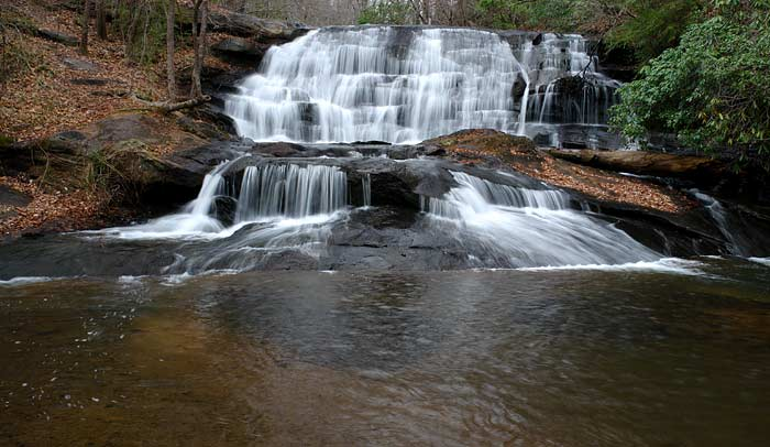 Carrick Creek Rd Falls
