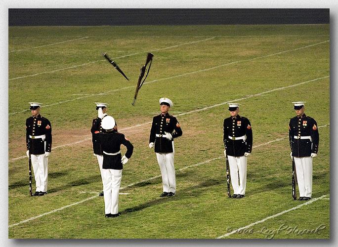 Silent Drill Platoon - Marine Corps