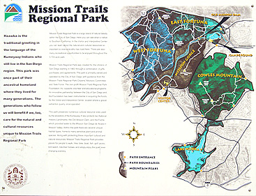 Mission Trails Map