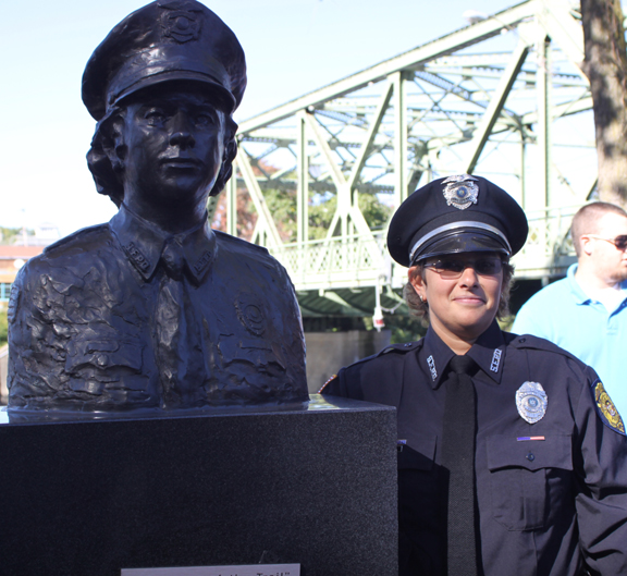 Sue Hawker - First Woman Police Officer in Seneca Falls