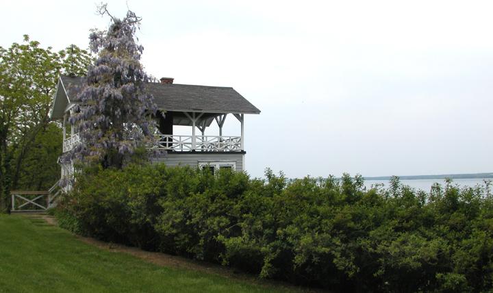 boathouse on cayuga lake....