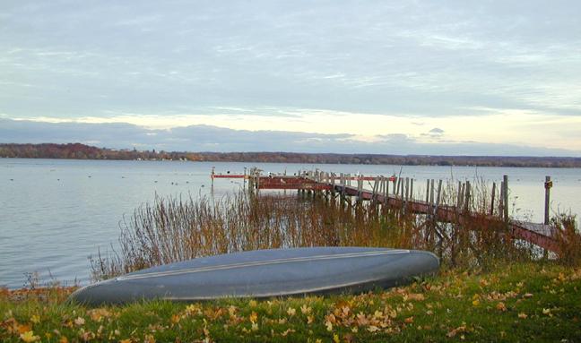 the blue canoe...
