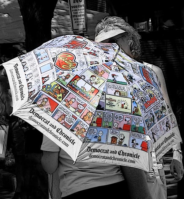 comic umbrella...