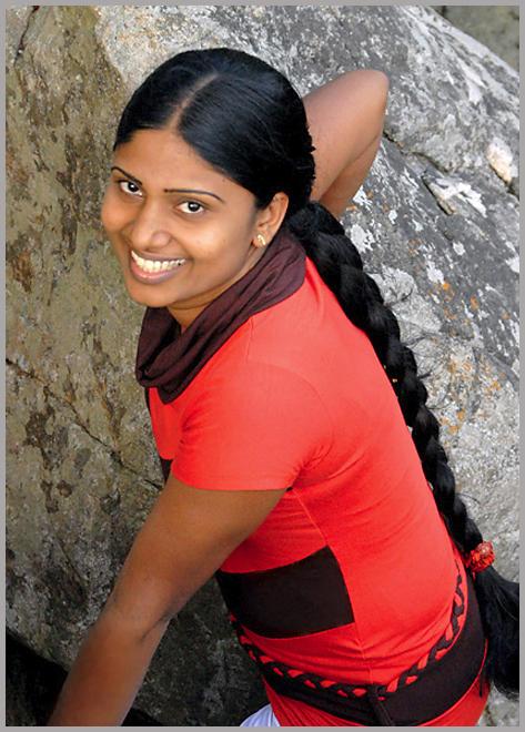 Young Woman of Sri Lanka