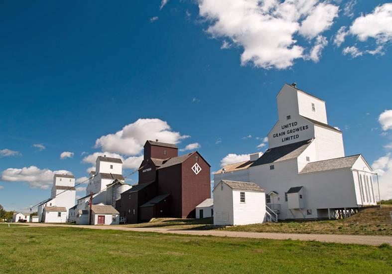 Inglis Grain Elevators - National Historic Site of Canada