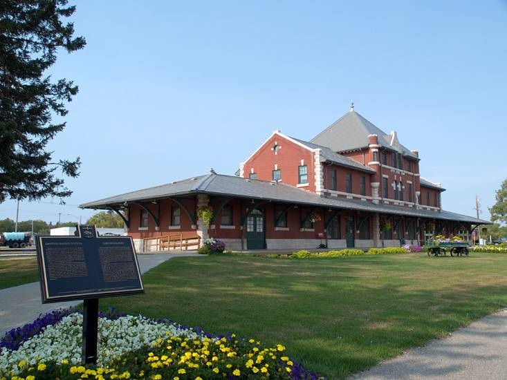 Dauphin CN Train Station