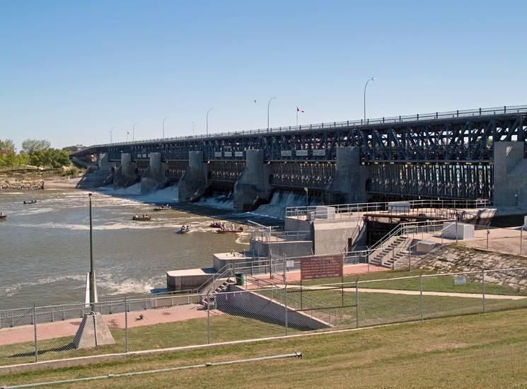 Lockport Dam & Lock