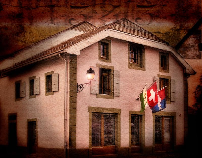 The patriotic house....