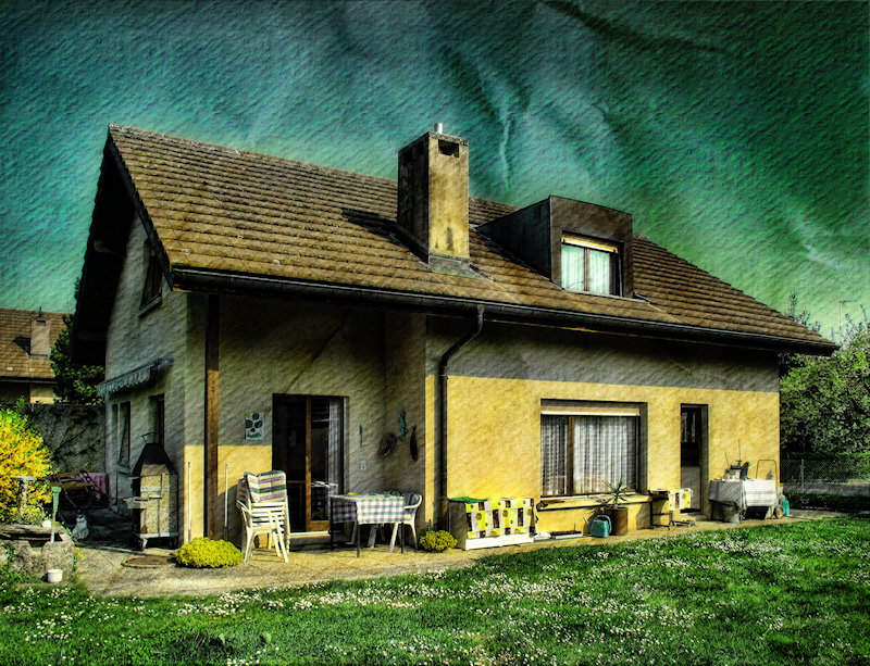 The house of the small old lady...
