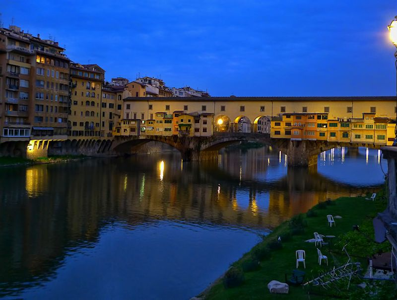 The usual, iconic photo of Ponte Vecchio....