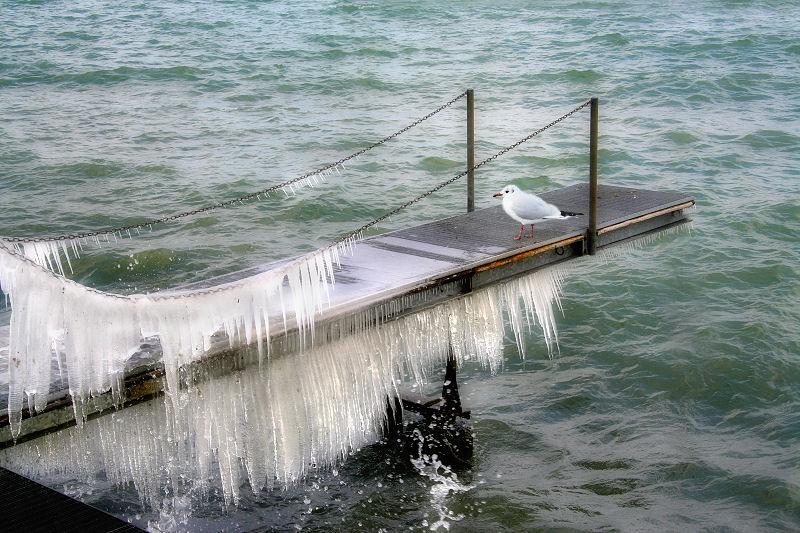 It will melt tomorrow...