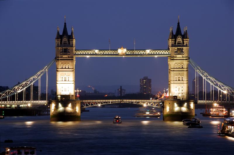 Tower Bridge - Under Heavy Rain