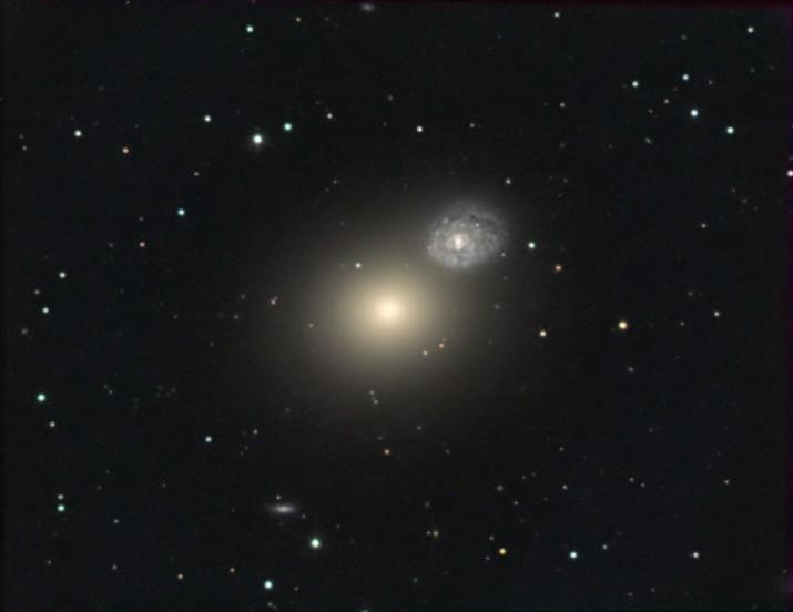 M60 (NGC 4647, <br>Arp 116)