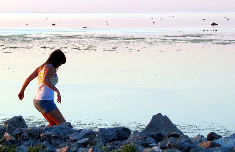 descente vers la mer