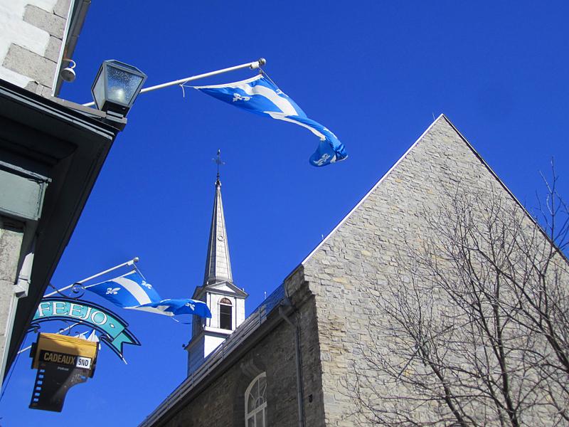 bleu Québec