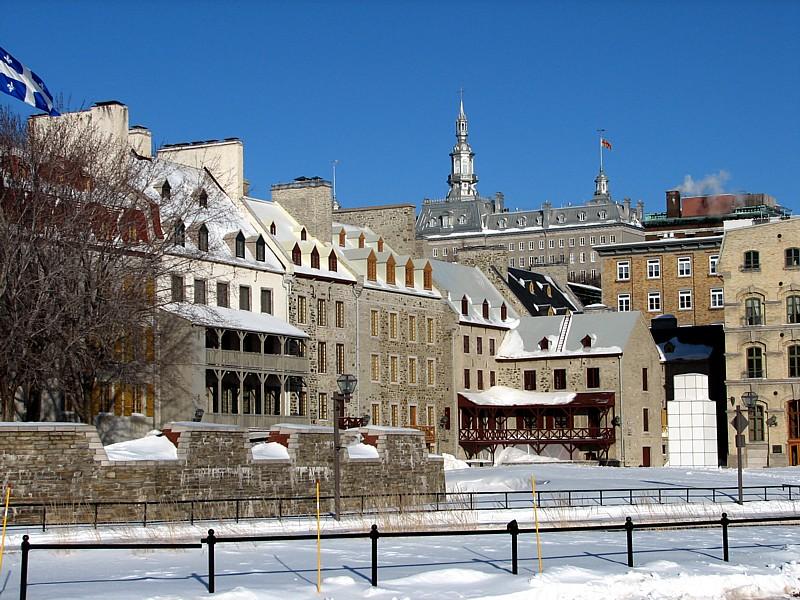 Petit champlain et seminaire de Québec