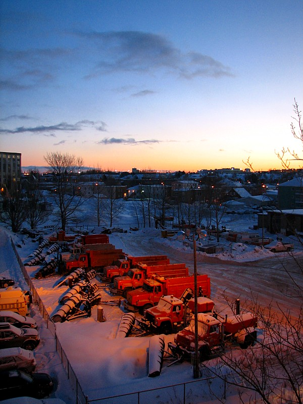 lever de soleil à Rimouski