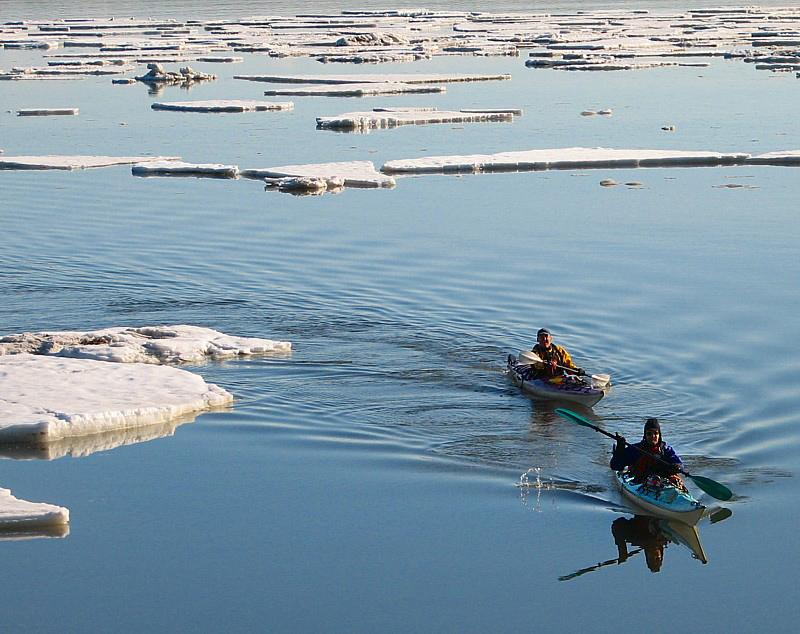deux kayaks
