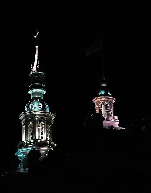 Les clochers du Vieux Québec