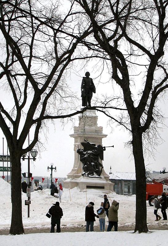 Statue de Champlain