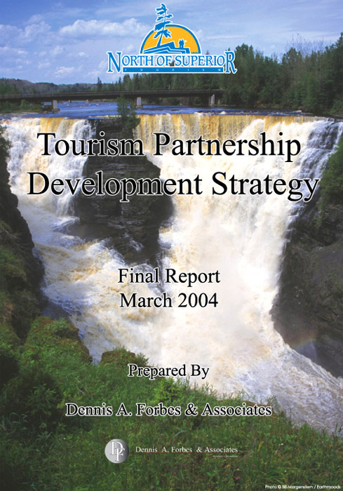 Kakabeka Falls - North Of Superior - Report Cover