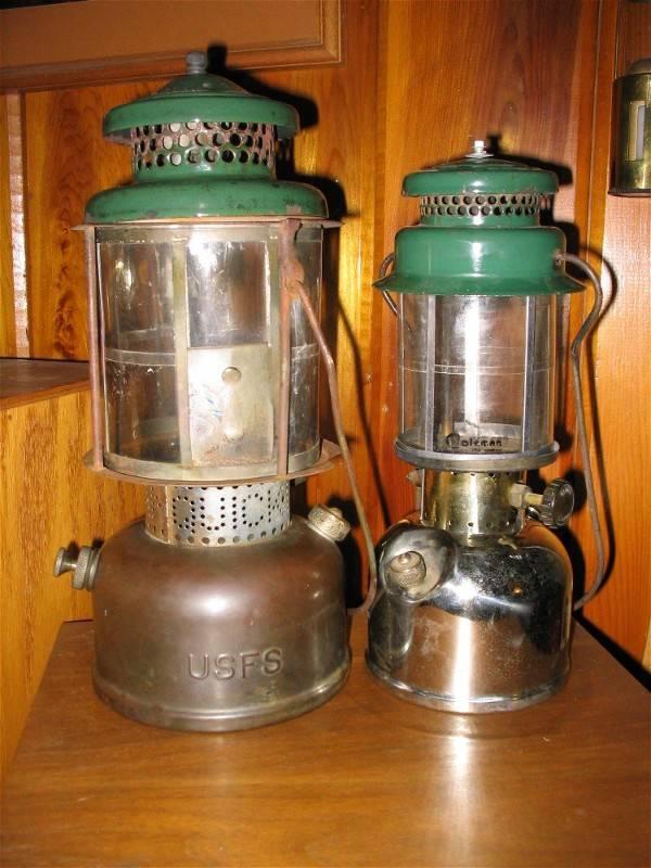 Coleman 1935 USFS L327 and 1933 242 Jr