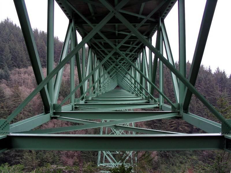 Oregons highest bridge on Hwy 101