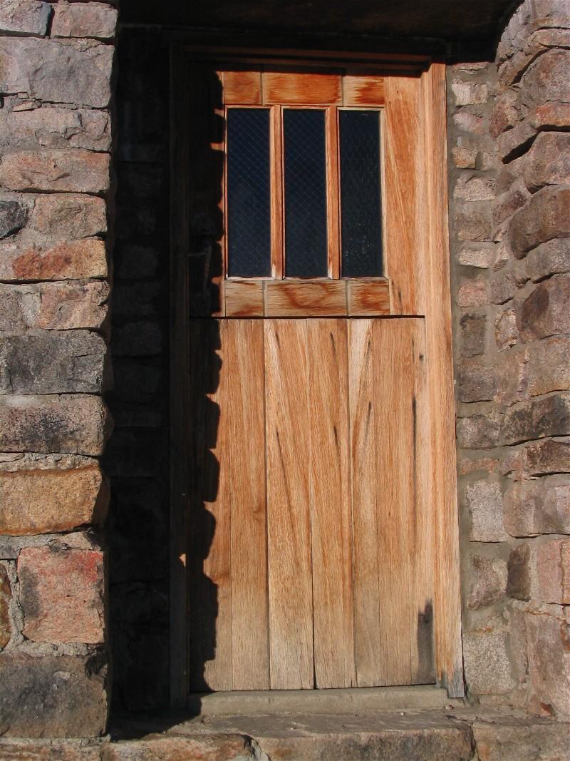 The door we hike so far to open
