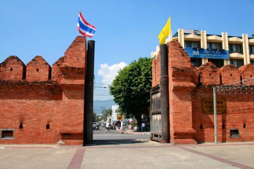 Tha Phao Gate, Chiang Mai