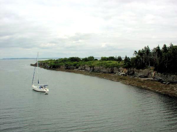 Jewell Island Cove North