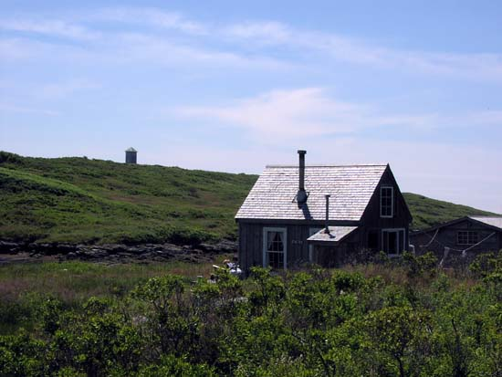 Caretakers Cottage Damariscove Island