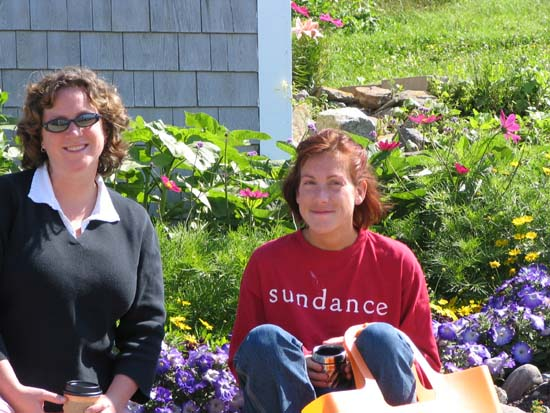 The Girls - Monhegan