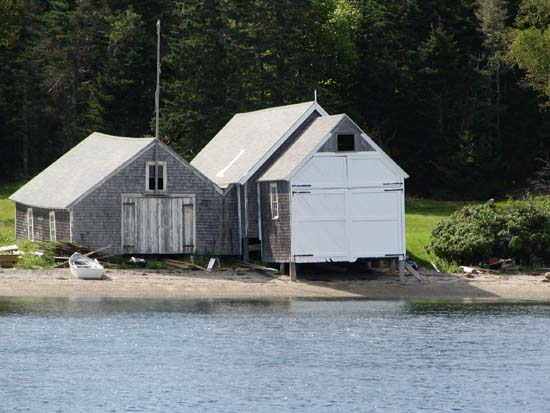 Boat Houses - Great Spruce Head Island