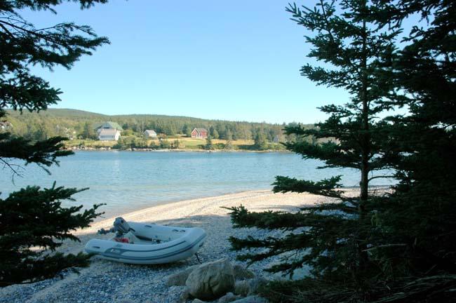 Isle Au Haut From Kimball Island