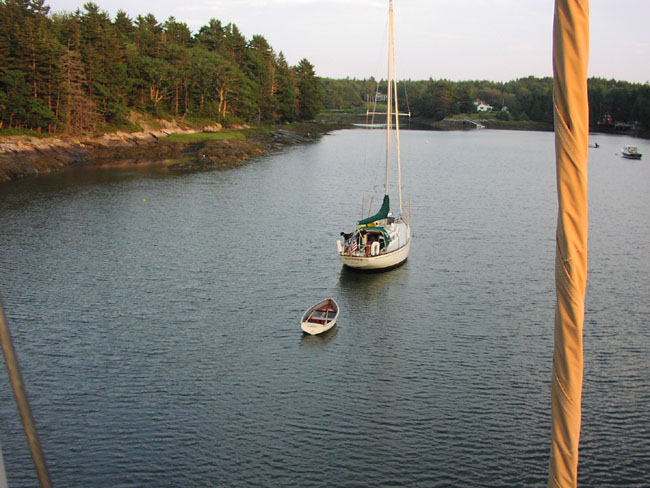 The View From The Top of The Mast