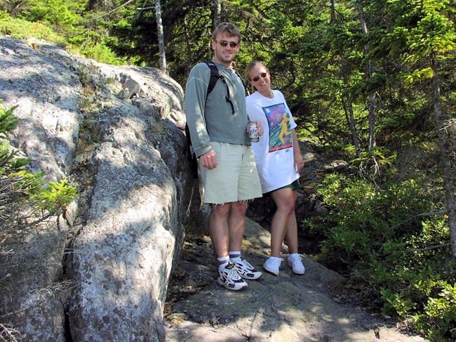 Hiking Duck Harbor Mountain