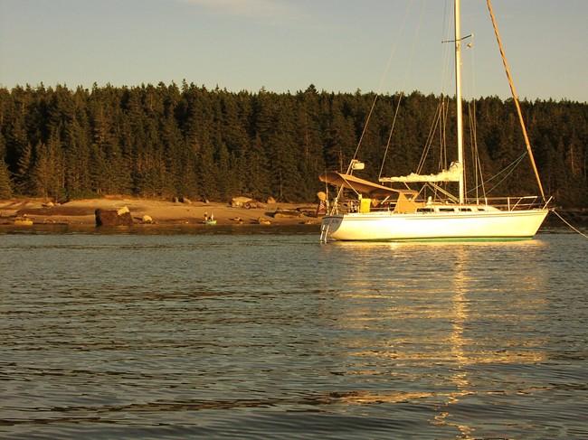 Hale Kai Late Afternoon - McGlathery Island