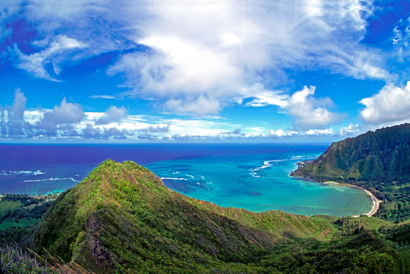 Kahana Bay - View from above