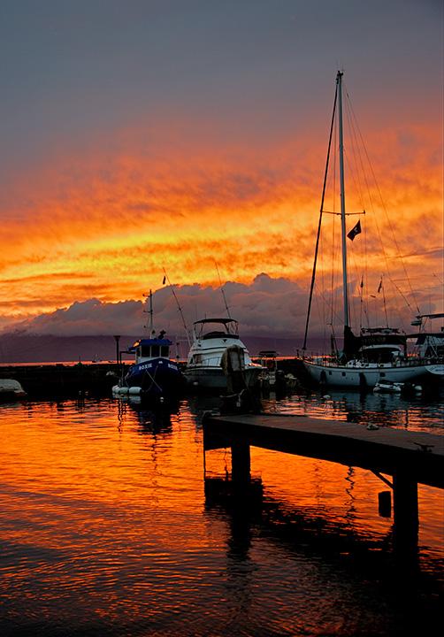 Lahaina Harbor - Ke Ahi