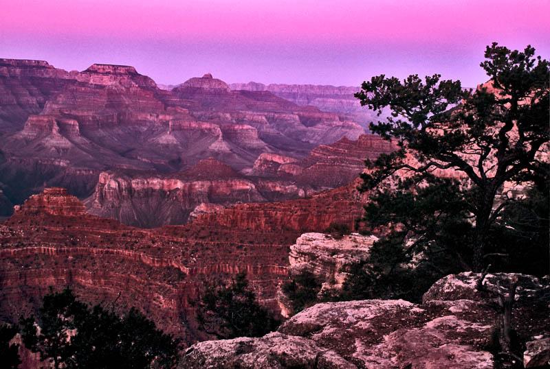 Grand Canyon Sunset (dia_01370