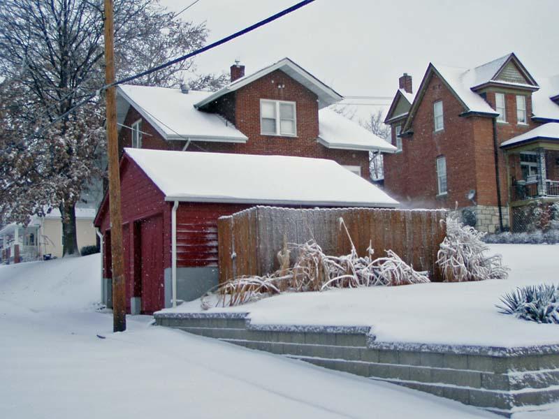 studio in the snow