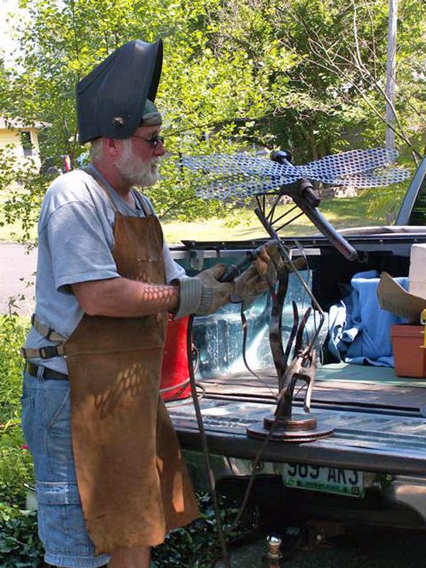 field repair in Phylliss driveway
