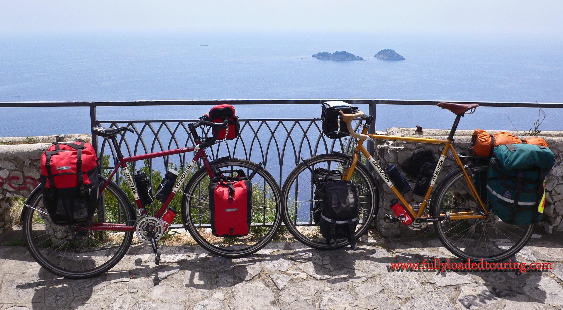 344    Scott & Susan - Touring Italy - Co-Motion Americano touring bikes