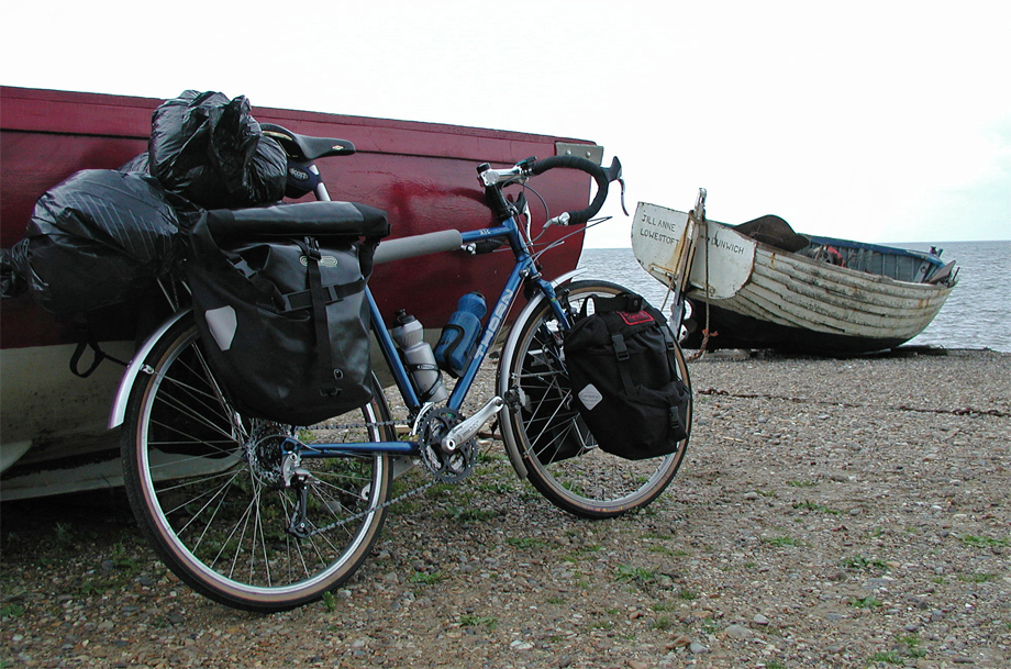 016  Mark - Touring England - Thorn XTC touring bike