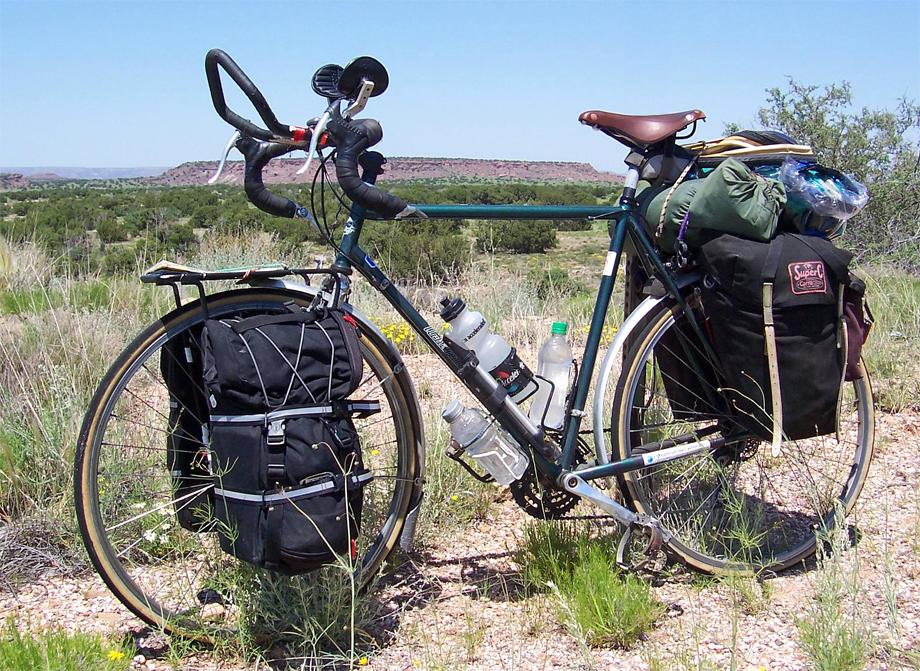 041  Patrick - Touring through New Mexico - Urbanite Touring touring bike